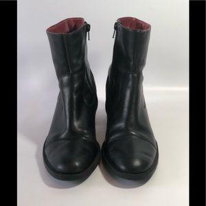 Vintage Naturalizer black leather ankle boots 8 N